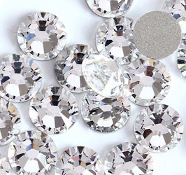 Strassteine crystal silber Größe SS3 - SS6