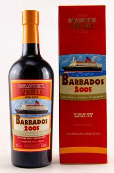 Transcontinental Rum Line Barbados 2005 (Foursquare) 0,7l, 55,2%