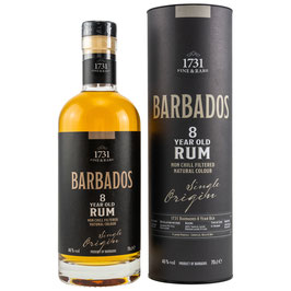 1731 Rum - Barbados (Foursquare Distillery) 8 y.o.