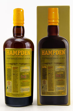 HAMPDEN - Pure Single Jamaican Rum 0,7l, 46,0%