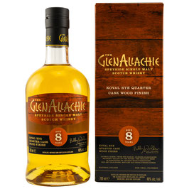 GlenAllachie 8 Koval Rye Wood Finish 0,7l, 48,0%