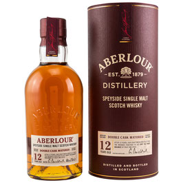 Aberlour 12 Double Cask neue Ausstattung 0,7l, 40,0%