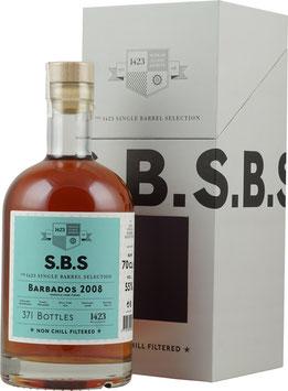 Single Barrel Selection Barbados 2008 9 Jahre mit  0,7 Liter und 55,0% Vol.