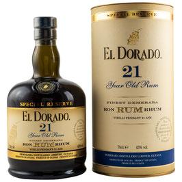 El Dordo 21 Jahre 0,7l, 43,0%