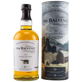 Balvenie 14 y.o. The Week of Peat 0,7l, 48,3%