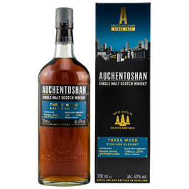 Auchentoshan Three Wood 0,7l, 43,0%