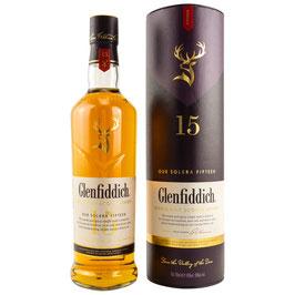 Glenfiddich 15 Solera 0,7l, 40,0%