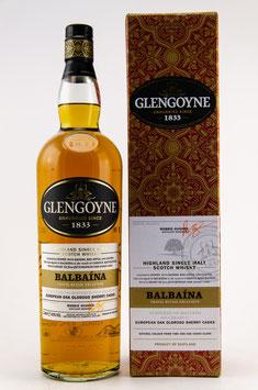 Glengoyne Balbaina European Oloroso Sherry Cask 1,0l, 43,0%