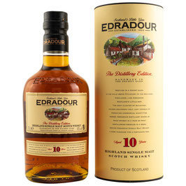 Edradour 10 y.o., Highland Single Malt 0,7l, 40,0%