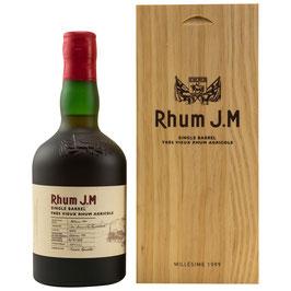 Rhum J.M Millésime 1999 Single Barrel 0,5l, 42,84%