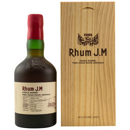 Rhum J.M Millésime 2000 Single Barrel 0,5l, 40,82%