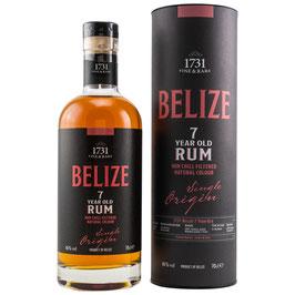1731 Rum - Belize 7 Jahre 0,7l, 46,0%