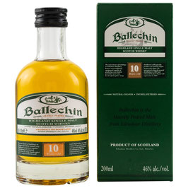 Ballechin 10 y.o., Heavily Peated 0,2l, 46,0%