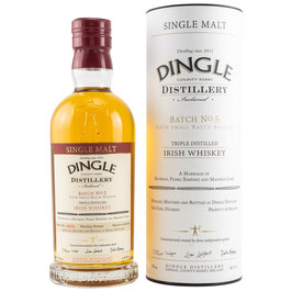 Dingle Single Malt Irish Whiskey - Batch 5 0,7l, 46,5%