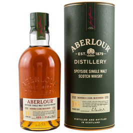 Aberlour 16 Double Cask neue Ausstattung 0,7l, 40,0%