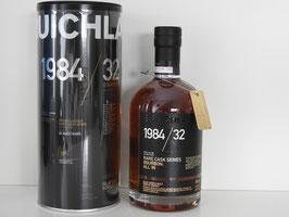 Bruichladdich old & rare 1984 32 Jahre, 43,7%