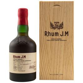 Rhum J.M Millésime 1999 Single Barrel 0,5l, 43,15%