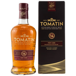 Tomatin 14 Port Wood Finish 0,7l, 46,0%