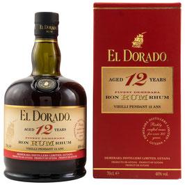 El Dorado 12 Jahre 0,7l, 40.0%