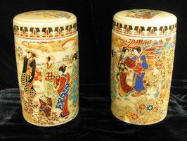 Керамические баночки для хранения чая