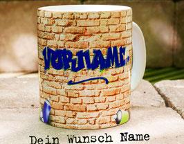 Tasse mit Ihrem Wunschnamen // Graffity