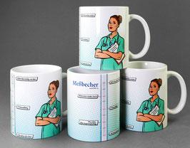 """Kaffeetasse """"Messbecher 2020"""""""