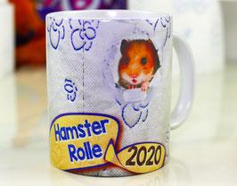 """Kaffeetasse """"Hamsterrolle 2020"""""""
