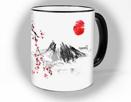 """Tasse """"Japan"""" Tee und Kaffeetasse (Fuji)"""