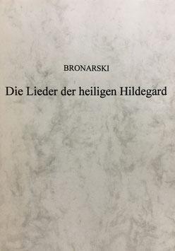 Buch - Die Lieder der heiligen Hildegard - Bronarski