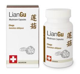 LianGu Chaga Vitalpilz BIO Qualität