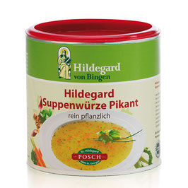 Posch Hildegard Suppenwürze pikant Bio Qualität