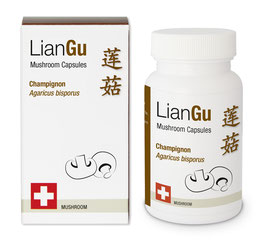 LianGu Champignon Vitalpilz BIO Qualität
