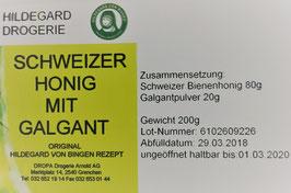 Hildegard Honig (Schweiz) mit Galgantpulver 20 %