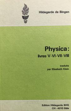 Buch - Français - Physica - Livres V, VI, VII; VIII - Basler Hildegard Gesellschaft