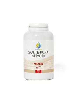ZEOLITE PURA  attivata   350 ml. POLVERE