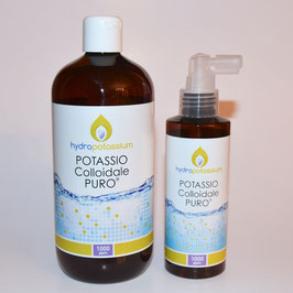 Potassio Colloidale PURO 500 ml 1000ppm