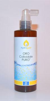 ORO COLLOIDALE PURO 20ppm Spray