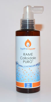 Rame Colloidale PURO 150ml 20ppm