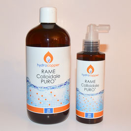 Rame Colloidale PURO 500ml 20ppm