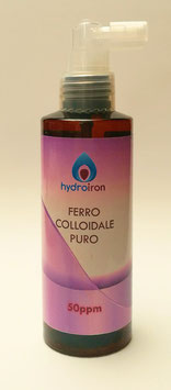 FERRO COLLOIDALE PURO 150 ml spray, 50ppm