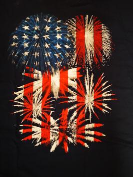 """Feuerwerk T-Shirt """"American Patriotic"""""""