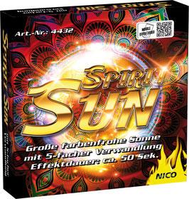 Spirit Sun, Effekt Sonne