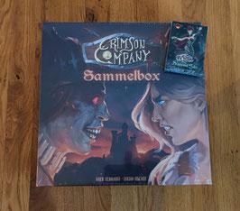 DAS KOMPLETTPAKET ZUR SPIEL'21: Crimson Company Sammelbox - STANDARD EDITION + Wildwood Tales Expansion