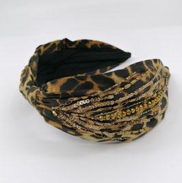 Haarreif Leopardenlook