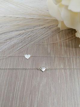 Armketteli Silber mit Herz