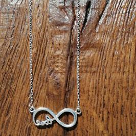 Halskette 42 cm silber