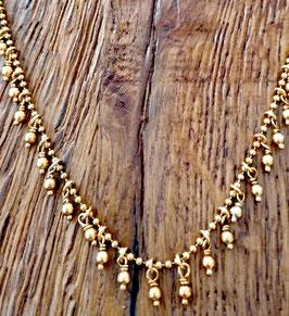 Halskette 41-45 cm gelbgold