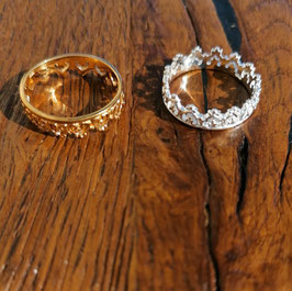 Fingerring gelbgold oder silber