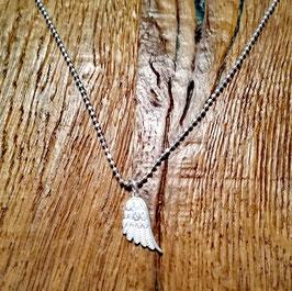 Halskette siber 42cm Engelsflügel