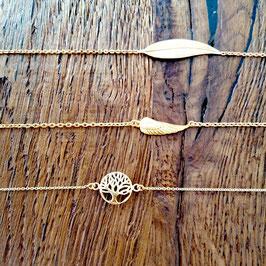 Armketteli Silber 925 vergoldet